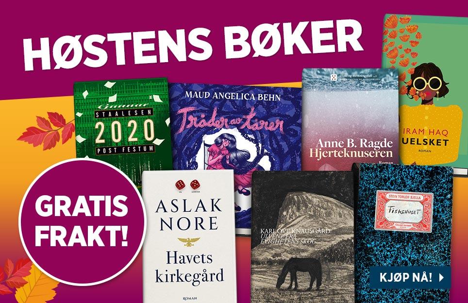 Stor katalog: Høstens bøker