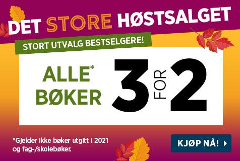 Medlemsfest - 40% på alle bøker 9.-12. september