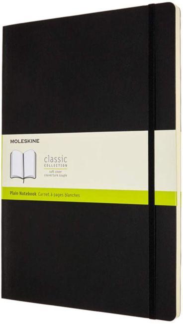 Notatbok Moleskine Classic Soft A4  - Blank Black