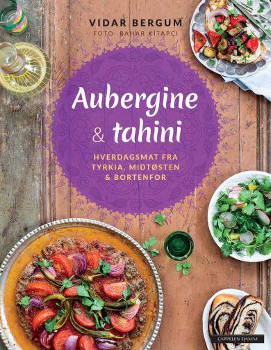 Aubergine og tahini