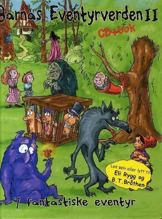 Barnas eventyrverden 2 m/cd