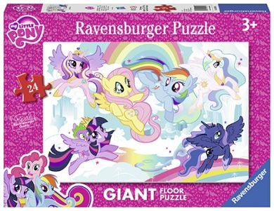 Puslespill 24 Gulv My Little Pony Ravensburger