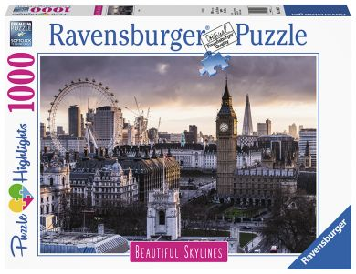 Puslespill 1000 London Ravensburger