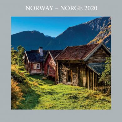 Kalender 2020 Baccara 18x18 Norge