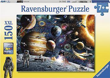 Puslespill 150 Verdensrommet Ravensburger