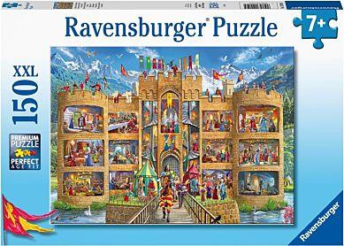 Puslespill 150 Ridderens Slott Ravensburger