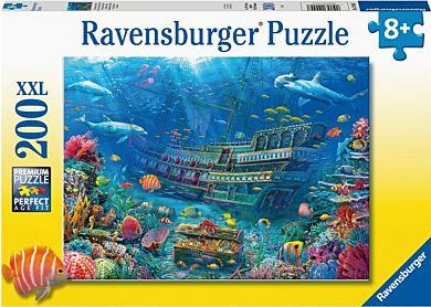 Puslespill 200 Skipsvrak Ravensburger