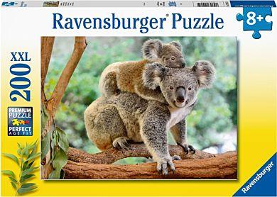 Puslespill 200 Koalafamilie Ravensburger