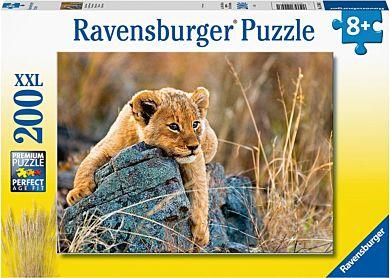 Puslespill 200 Løveunge Ravensburger