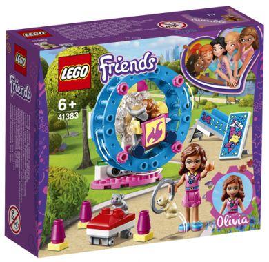 Lego Olivias Hamsterlekeplass 41383