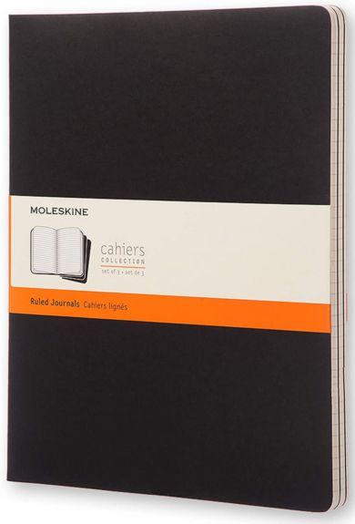 Moleskine Cahier Linjert Sort Xxl (3)