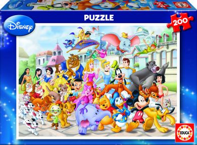 Puslespill Educa 200 Disney Parade