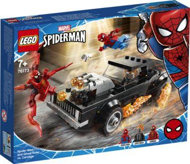 Lego Spider-Man og Ghostrider mot Carnage 76173