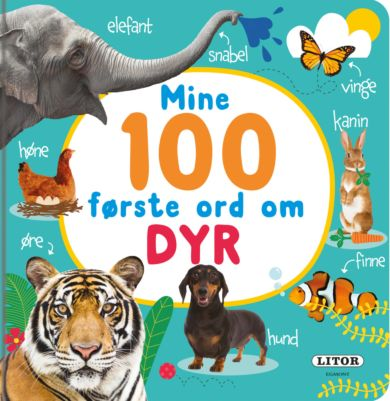 Mine 100 første ord om dyr