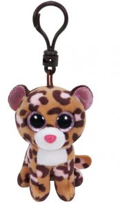 Bamse Ty Patches Leopard Tan Clip