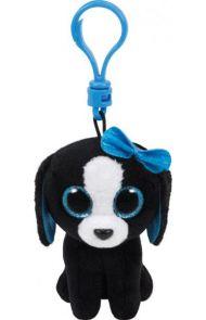 Bamse Ty Tracey Blackwhite Dog Clip