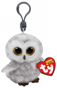 Bamse TY Owlette White Owl Clip