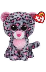 Bamse TY Pink Grey Leopard Regular