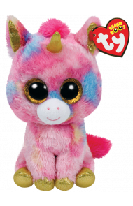 Bamse TY Fantasia Multi Unicorn Regular