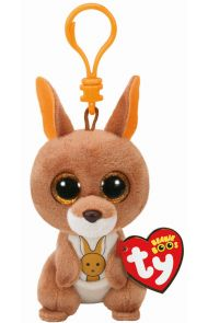 Bamse TY Kipper Brown Kangaroo Clip