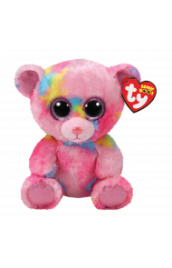 Bamse TY Franky Pink Multicolored Bear Regular