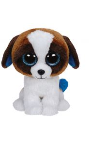 Bamse TY Brown White Dog Medium