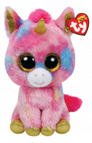 Bamse TY Fantasia Multi Unicorn Medium
