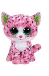 Bamse TY Sophie Pink Cat Medium