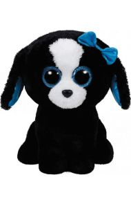 Bamse Ty Tracey Blackwhite Dog Medium