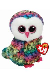 Bamse Ty Owen Owl Multicol Medium