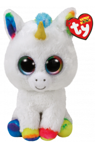 Bamse TY Pixywhite Unicorn Medium