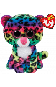 Bamse TY DotTY Multicolor Leopard Reg