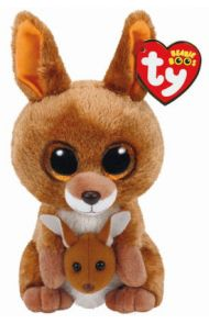 Bamse TY Kipper Kangeroo Brown Regular