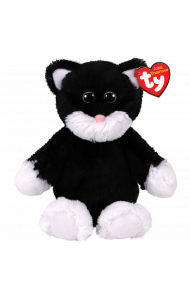 Bamse TY Bessie Black/White Dog Regular