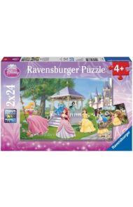 Puslespill Ravensb 2X24 Prinsesser