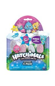 HATCHIMALS COLLEGGTIBLES 4 PK BONUS