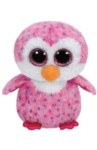 Bamse Ty Glider Pink Penguin Medium