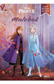 Malebok WD Frost 2 Med Klistremerker