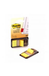 Post-It Index 6805 Gul 25X43Mm(50)