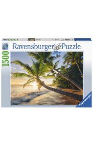 Puslespill Ravensburger 1500 Beach Sunset