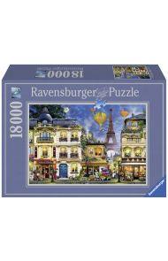 Puslespill Ravensburger 18000 Paris