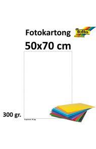 Fotokartong 50X70 300G Hvit