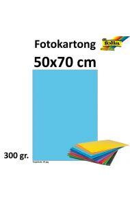 Fotokartong 300G 50X70 Himmelblå
