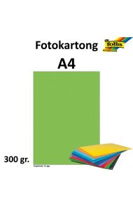 Fotokartong A4 300G Eplegrønn
