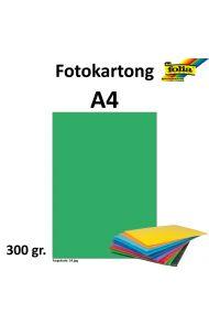 Fotokartong A4 300G Smaragdgrønn