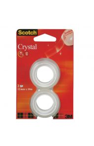 Tape Scotch Crystal 12mmx10m refill (2)
