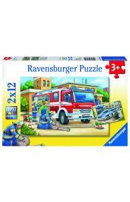 Puslespill Ravensburger Politi 2X12