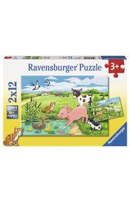 Puslespill Ravensb 2X12 Dyreunger
