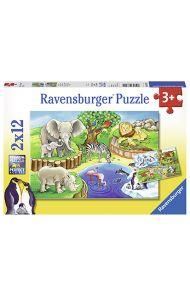Puslespill Ravensb 2X12 I Dyreparken