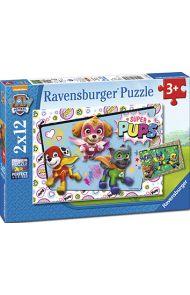 Puslespill 2X12 Paw Patrol Ravensburger